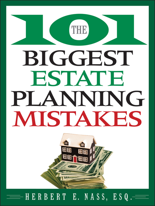 The 101 Biggest Estate Planning Mistakes (eBook)
