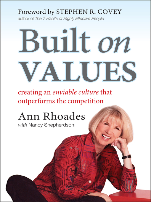 Built on Values (eBook): Creating an Enviable Culture that Outperforms the Competition