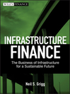 Infrastructure Finance (eBook): The Business of Infrastructure for a Sustainable Future