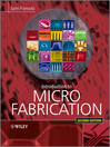 Introduction to Microfabrication (eBook)