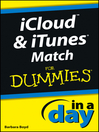 iCloud and iTunes Match In a Day For Dummies (eBook)