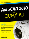 AutoCAD 2010 For Dummies® (eBook)