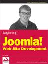 Beginning Joomla! Web Site Development (eBook)