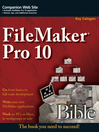 FileMaker Pro 10 Bible (eBook)