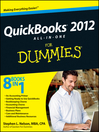 QuickBooks 2012 All-in-One For Dummies (eBook)