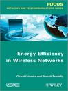 Energy Efficiency in Wireless Networks (eBook)