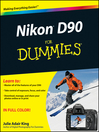 Nikon D90 For Dummies® (eBook)