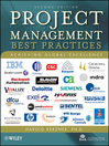 Project Management--Best Practices (eBook): Achieving Global Excellence