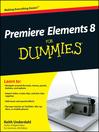 Premiere Elements 8 For Dummies (eBook)