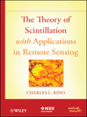 The Theory of Scintillation with Applications in Remote Sensing (eBook)