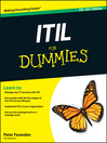 ITIL For Dummies (eBook)