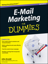 E-Mail Marketing For Dummies (eBook)