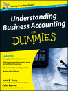 Understanding Business Accounting For Dummies (eBook)