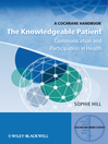 The Knowledgeable Patient (eBook): Communication and Participation in Health