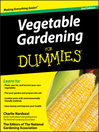 Vegetable Gardening For Dummies (eBook)