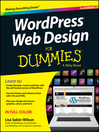 WordPress Web Design For Dummies (eBook)
