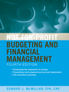 Not-for-Profit Budgeting and Financial Management (eBook)