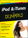 iPod and iTunes For Dummies (eBook)
