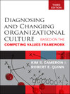 Diagnosing and Changing Organizational Culture (eBook): Based on the Competing Values Framework