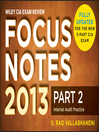 Wiley CIA Exam Review Focus Notes, Internal Audit Practice (eBook)
