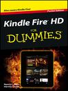 Kindle Fire HD For Dummies (eBook)