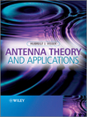 Antenna Theory and Applications (eBook)