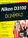 Nikon D3100 For Dummies (eBook)