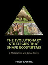 The Evolutionary Strategies that Shape Ecosystems (eBook)