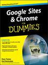 Google Sites & Chrome For Dummies® (eBook)