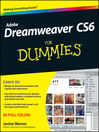 Dreamweaver CS6 For Dummies (eBook)