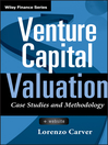 Venture Capital Valuation (eBook): Case Studies and Methodology