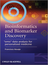 "Bioinformatics and Biomarker Discovery (eBook): ""Omic"" Data Analysis for Personalized Medicine"