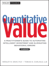 Quantitative Value (eBook): A Practitioner's Guide to Automating Intelligent Investment and Eliminating Behavioral Errors