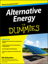 Alternative Energy For Dummies® (eBook)