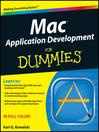 Mac Application Development For Dummies (eBook)