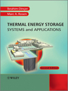 Thermal Energy Storage (eBook): Systems and Applications