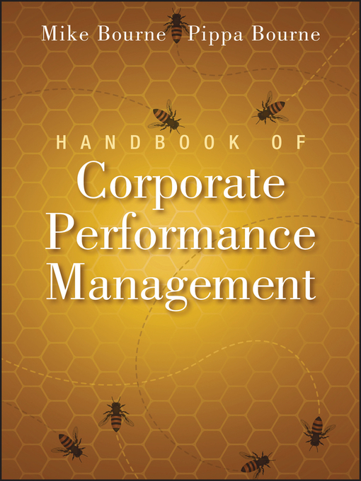 Handbook of Corporate Performance Management (eBook)