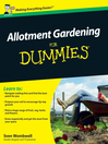 Allotment Gardening For Dummies (eBook)