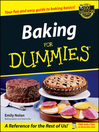 Baking For Dummies (eBook)