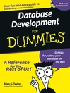 Database Development For Dummies (eBook)