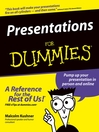 Presentations For Dummies (eBook)