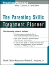 The Parenting Skills Treatment Planner (eBook)