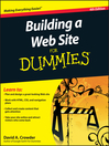 Building a Web Site For Dummies (eBook)