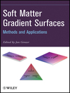 Soft Matter Gradient Surfaces (eBook): Methods and Applications