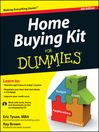 Home Buying Kit For Dummies (eBook)