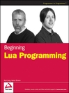 Beginning Lua Programming (eBook)