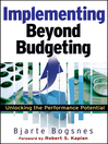 Implementing Beyond Budgeting (eBook): Unlocking the Performance Potential