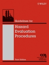Guidelines for Hazard Evaluation Procedures (eBook)