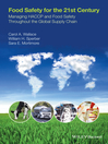 Food Safety for the 21st Century (eBook): Managing HACCP and Food Safety throughout the Global Supply Chain