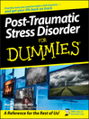 Post-Traumatic Stress Disorder For Dummies (eBook)